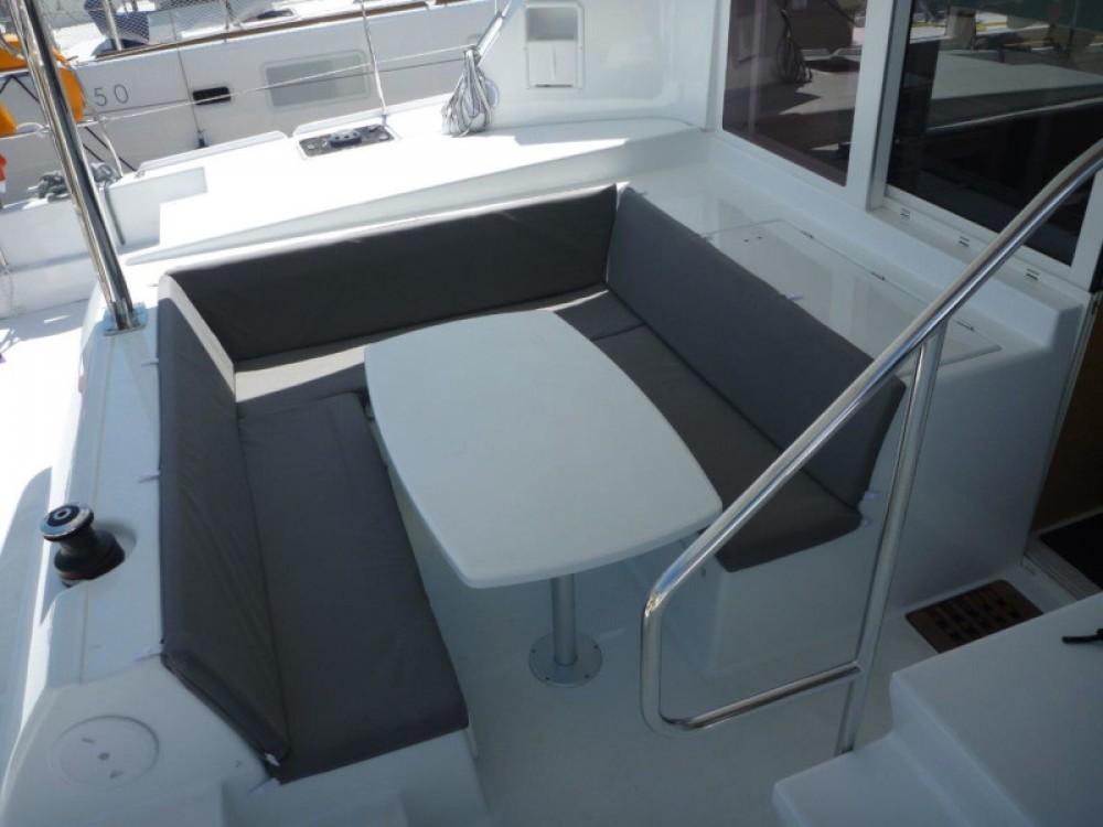 Rental Catamaran in  - Lagoon Lagoon 421 (4+1 cab.)