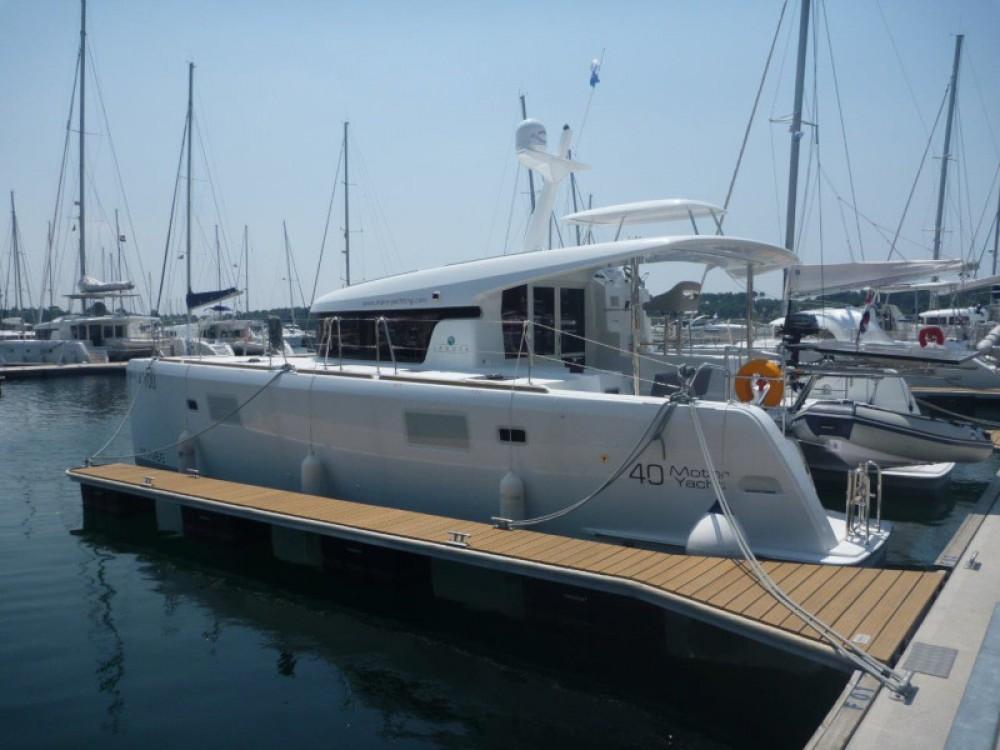 Rental Catamaran in Šibenik - Lagoon Lagoon 40 (4+2 cab.)
