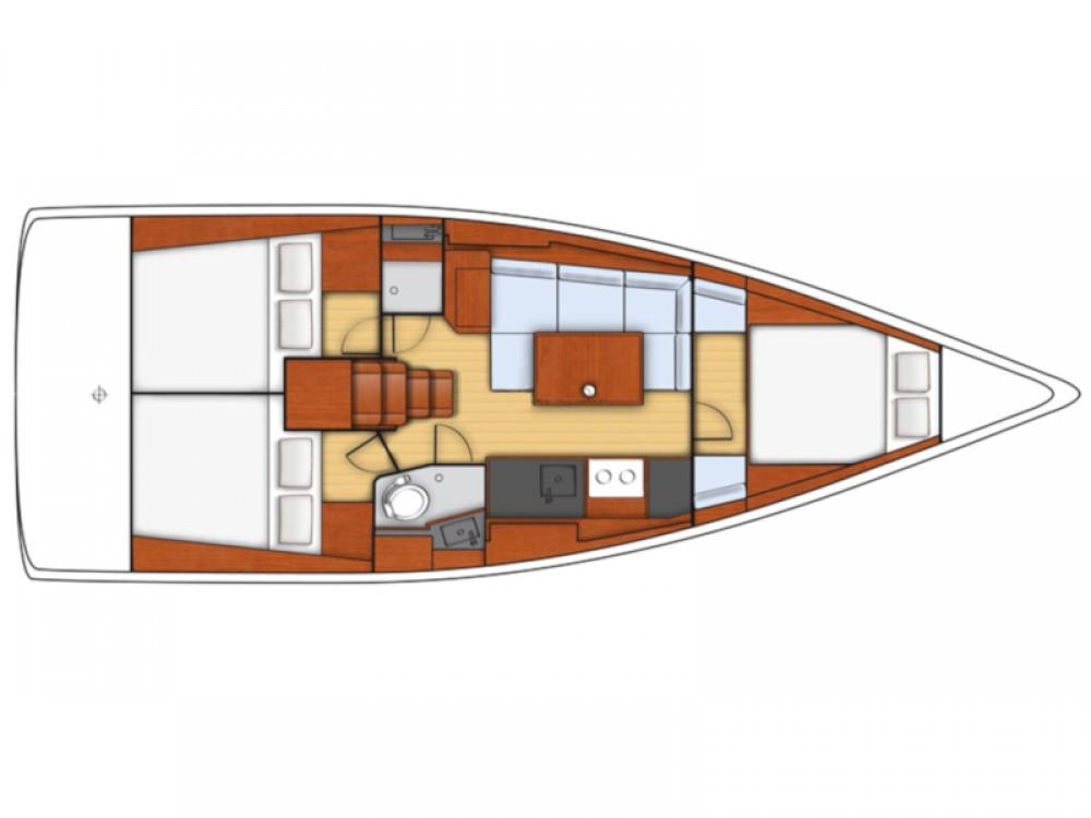 Rental yacht Šibenik - Bénéteau Oceanis 38- 3 cab. on SamBoat