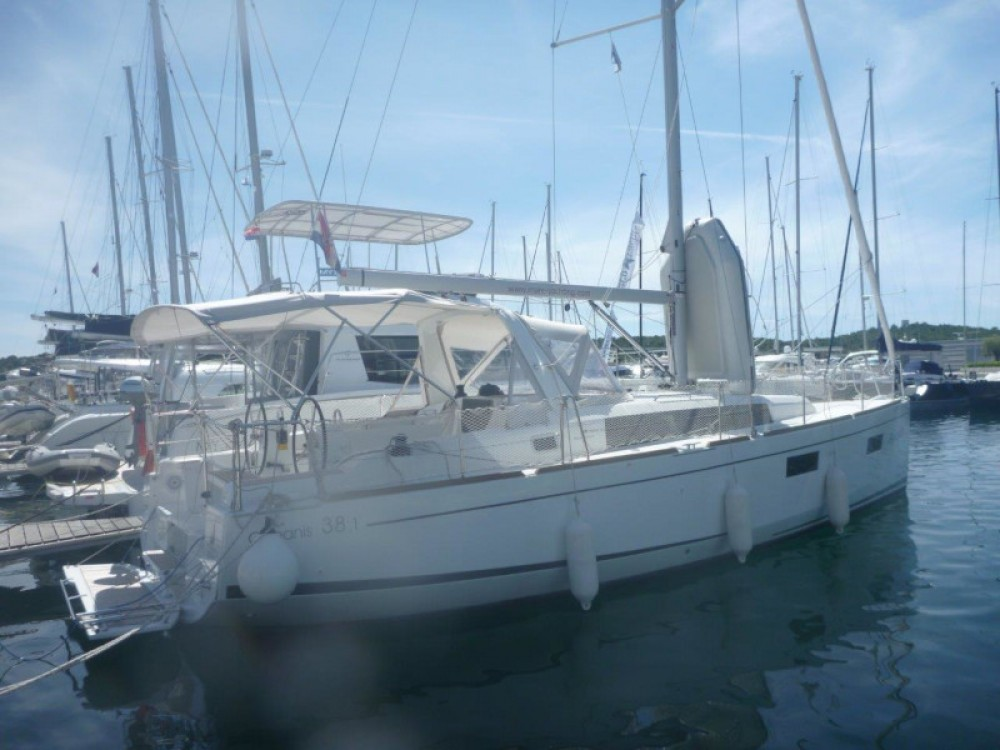 Boat rental Šibenik cheap Oceanis 38- 3 cab.