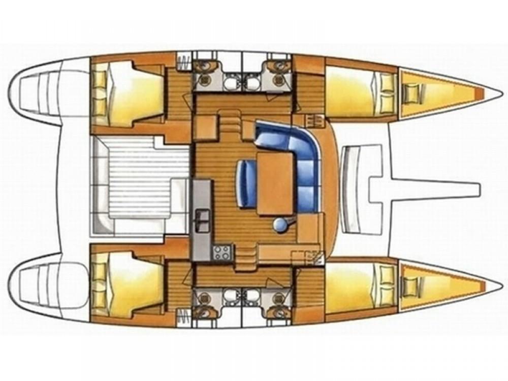 Rental yacht Šibenik - Lagoon Lagoon 400 (4+2 cab.) on SamBoat