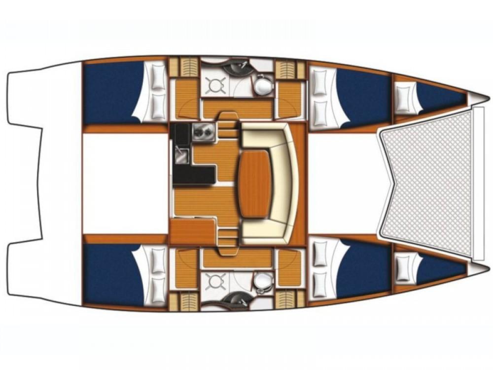 Boat rental Šibenik cheap Leopard 39 PC (4+2 cab.)