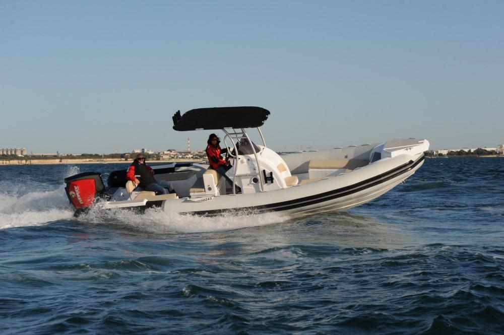 Rental RIB Tiger-Marine with a permit