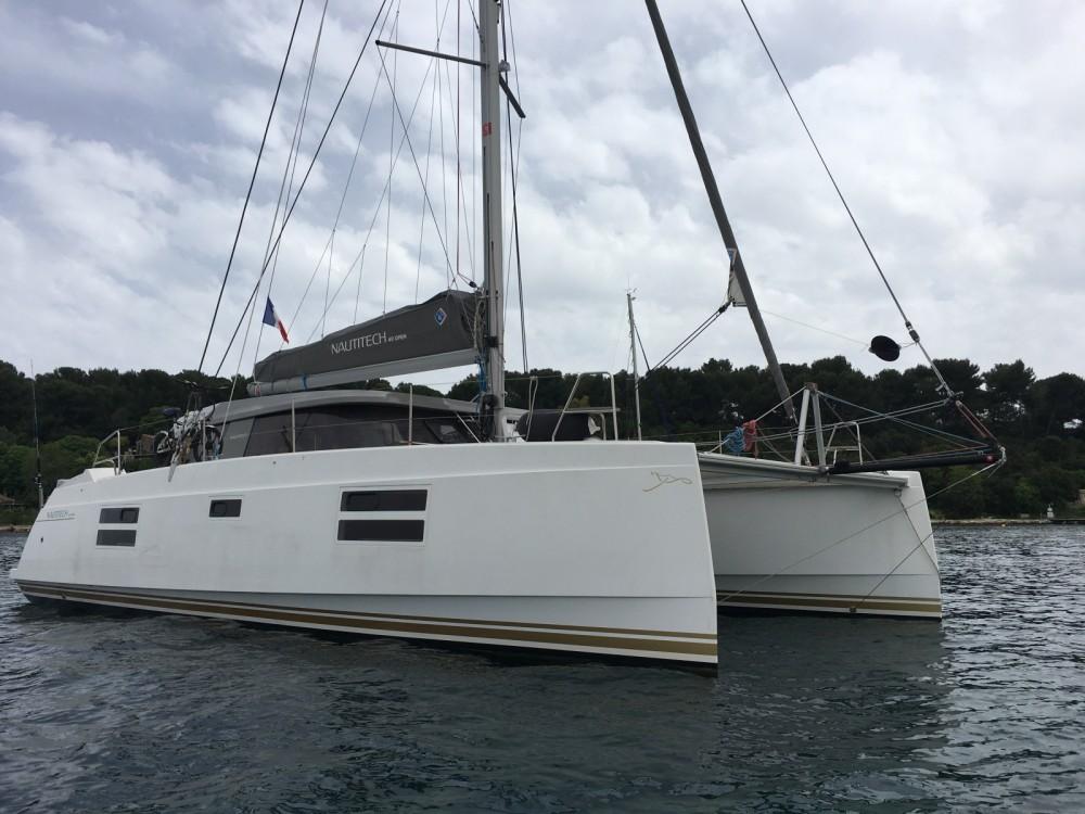 Rental Catamaran in Antibes - Nautitech Open 40