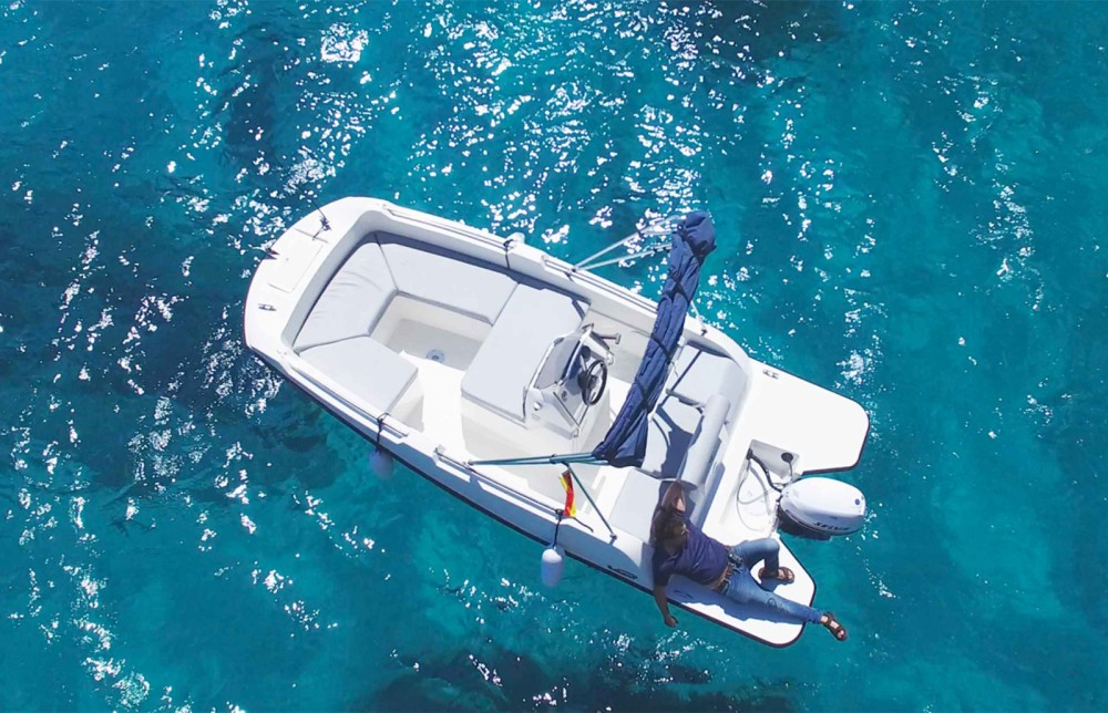 Rental Motorboat in Formentera - V2-Boat 5.0