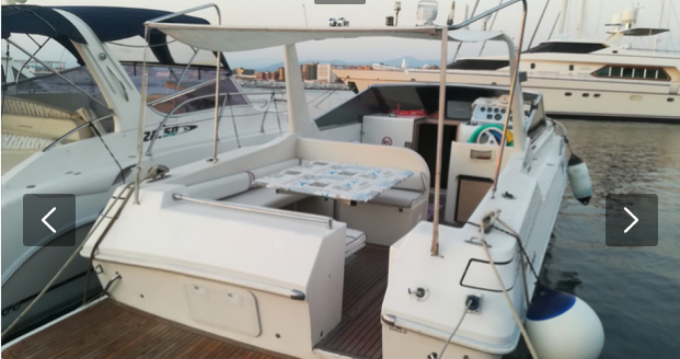 Rental Motorboat in Castellammare di Stabia - Molinari dart 36