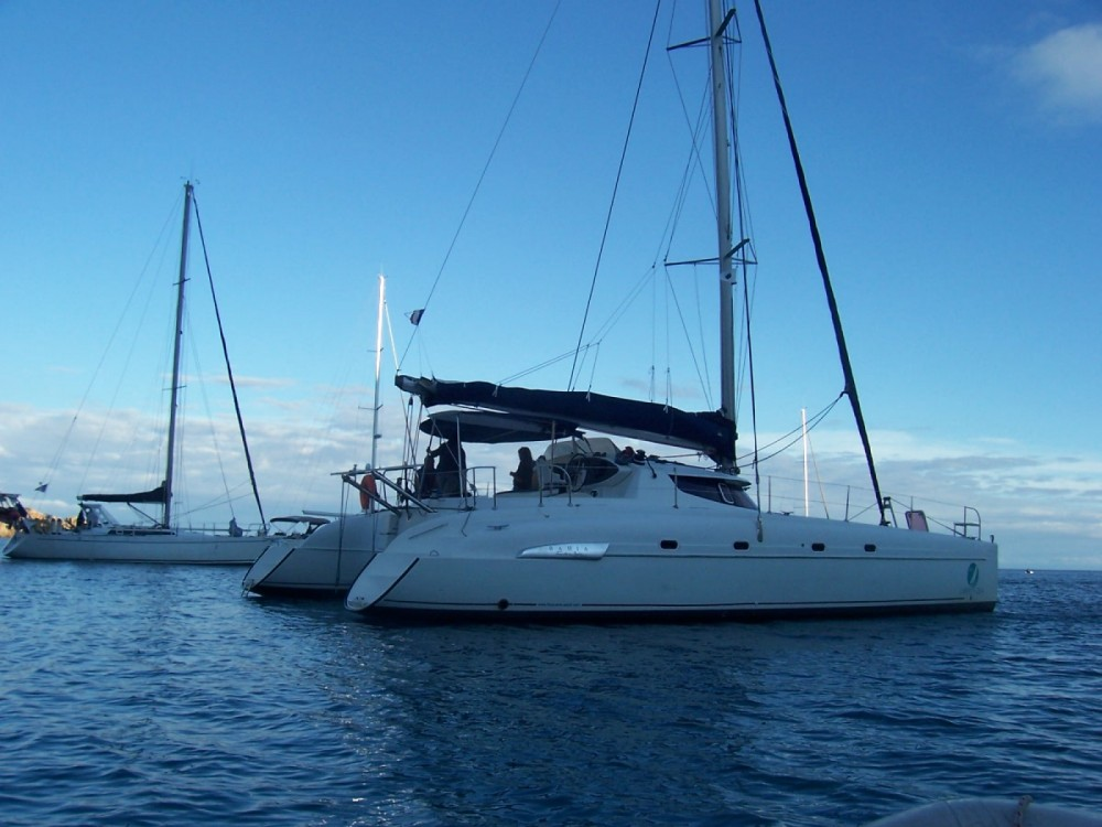 Hire Catamaran with or without skipper Fountaine Pajot Ajaccio