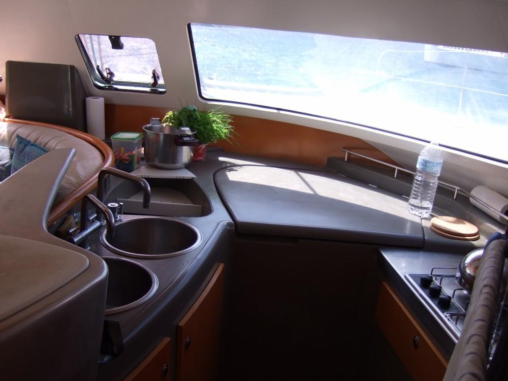 Rental Catamaran in Ajaccio - Fountaine Pajot Bahia 46