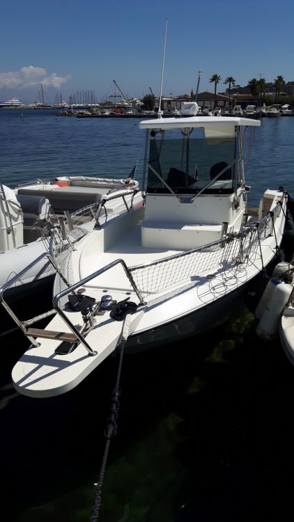 Rental Motor boat Zaniboni  with a permit