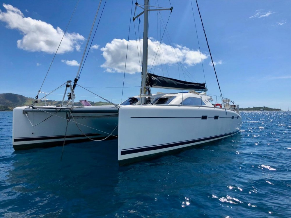 Catamaran for rent Gustavia at the best price