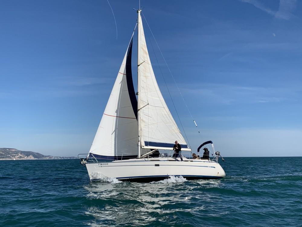 Boat rental Sitges cheap Bavaria 34