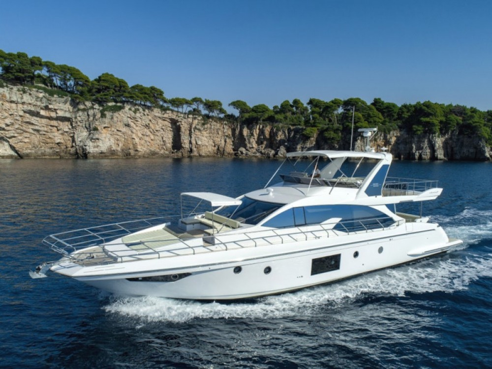 Hire Yacht with or without skipper Azimut Dubrovnik