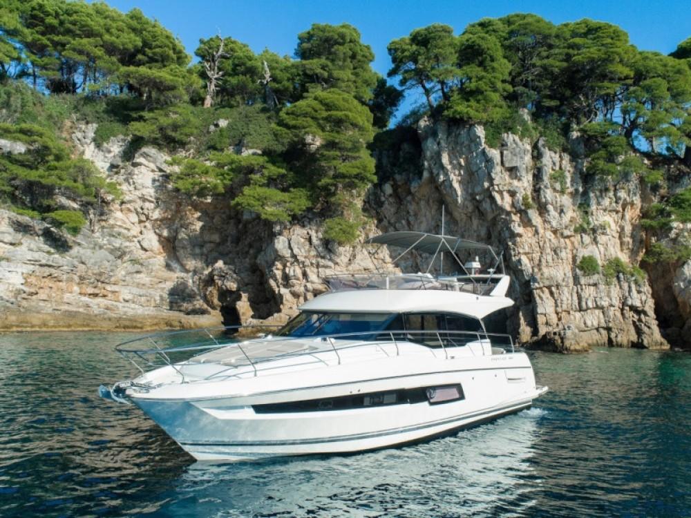 Rental yacht Komolac - Jeanneau Prestige 460 on SamBoat