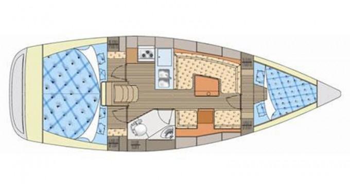 Rental yacht Kórfos - Elan Elan 344 on SamBoat