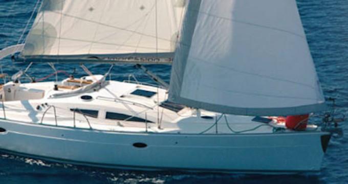 Rental Sailboat in Kórfos - Elan Elan 384