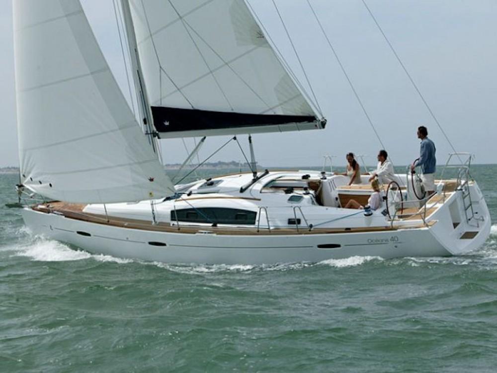 Boat rental Korinth cheap Oceanis 40