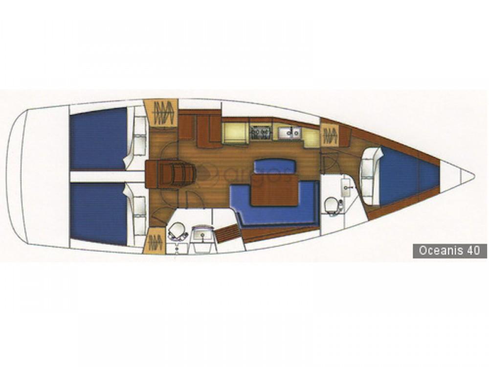 Rental Sailboat in Korinth - Bénéteau Oceanis 40