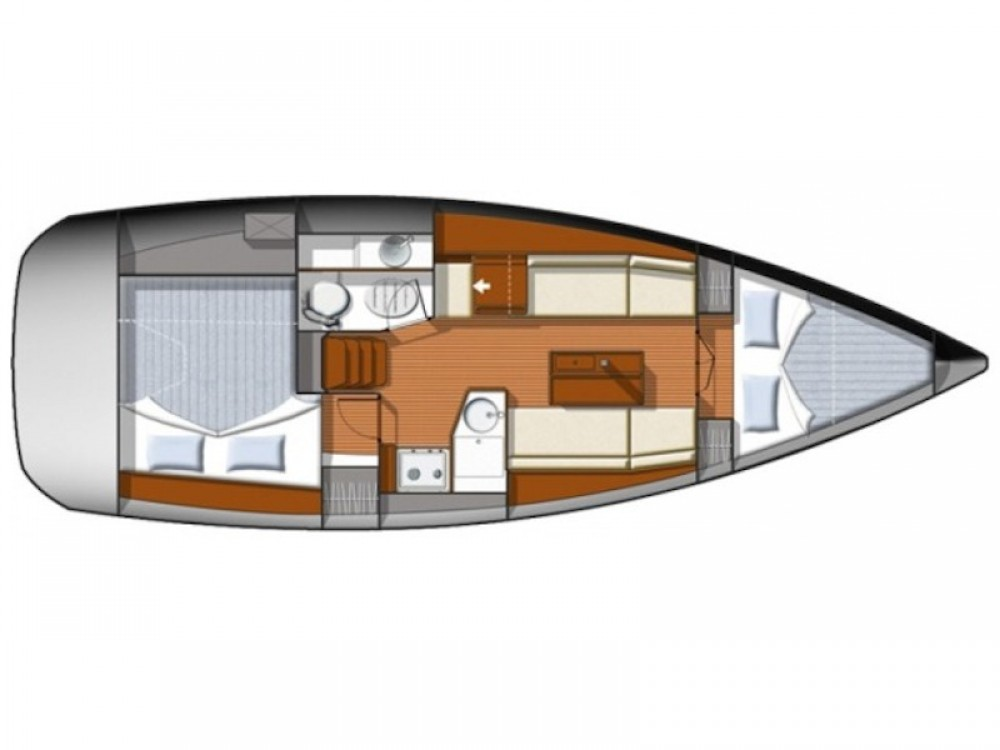 Jeanneau Sun Odyssey 33i between personal and professional Greece