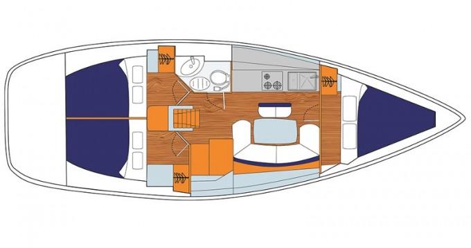 Boat rental Jeanneau Sunsail 38 in Dubrovnik on Samboat