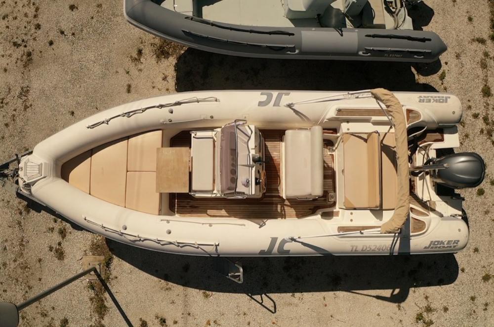 Boat rental Joker Boat Clubman 26 in Hyères on Samboat