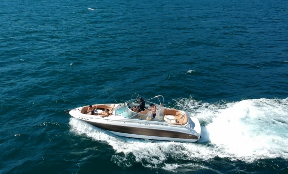 Rental Motor boat Sea Ray with a permit