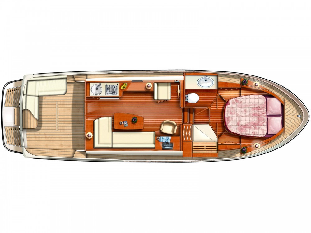 Motor boat for rent Werder at the best price