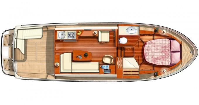 Rental Motorboat in Werder (Havel) - Linssen Linssen GS 34.9 Sedan