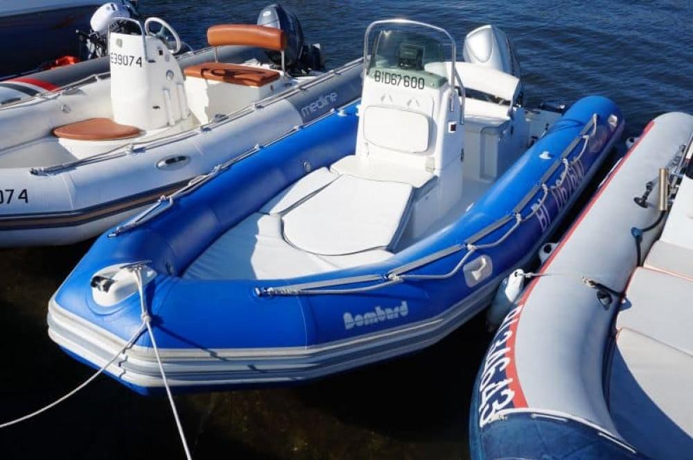 Rent a Bombard Explorer 550 Saint-Florent