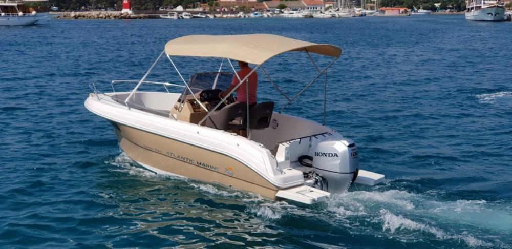 Rental Motorboat Atlantic-Marine with a permit