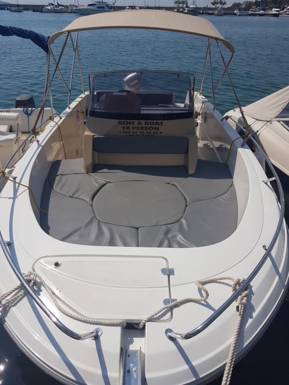 Boat rental Krk cheap open 670
