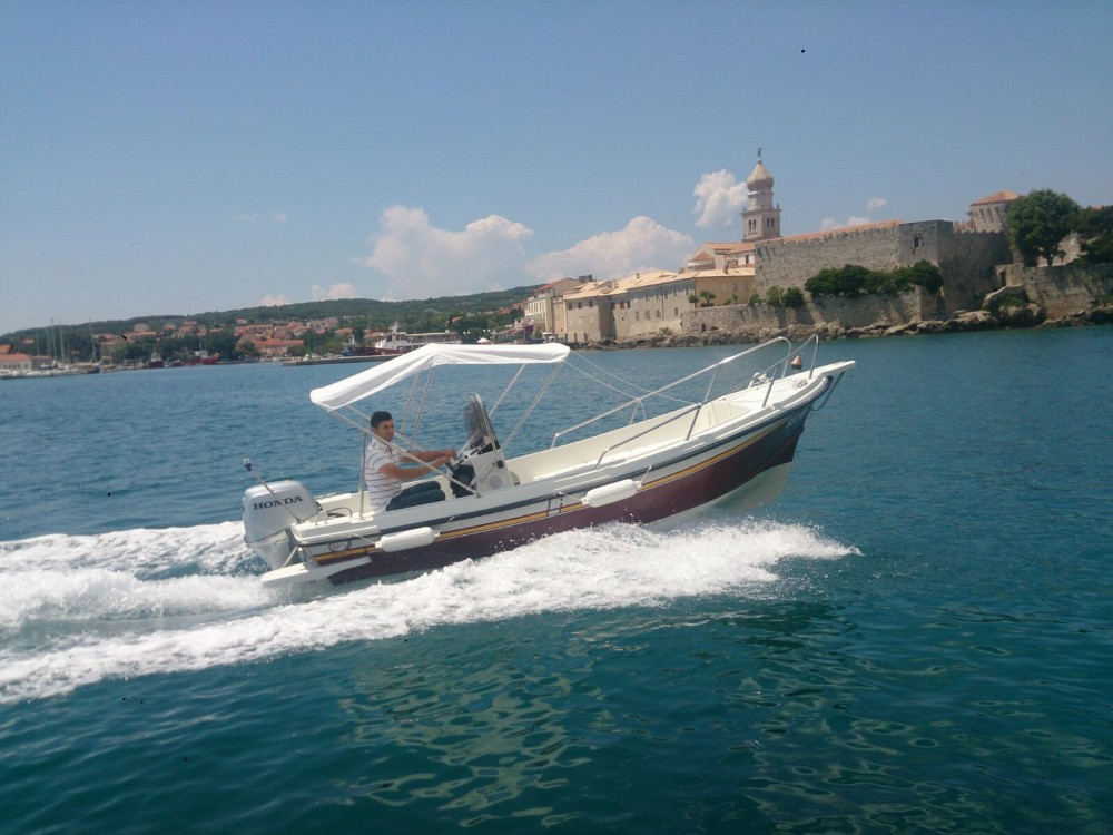Boat rental Arta Arta Mala in Veglia on Samboat