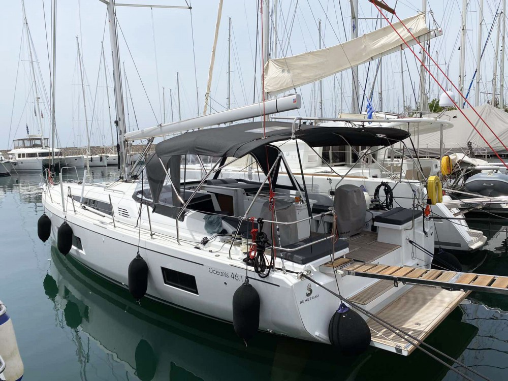 Boat rental Bénéteau Oceanis 461 in Peloponnese on Samboat