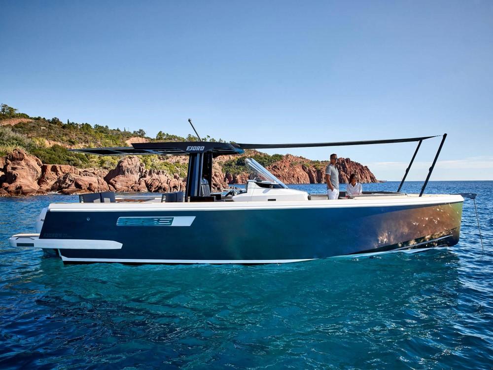 Fjord-Boats Fjord 38 Express between personal and professional Croatia