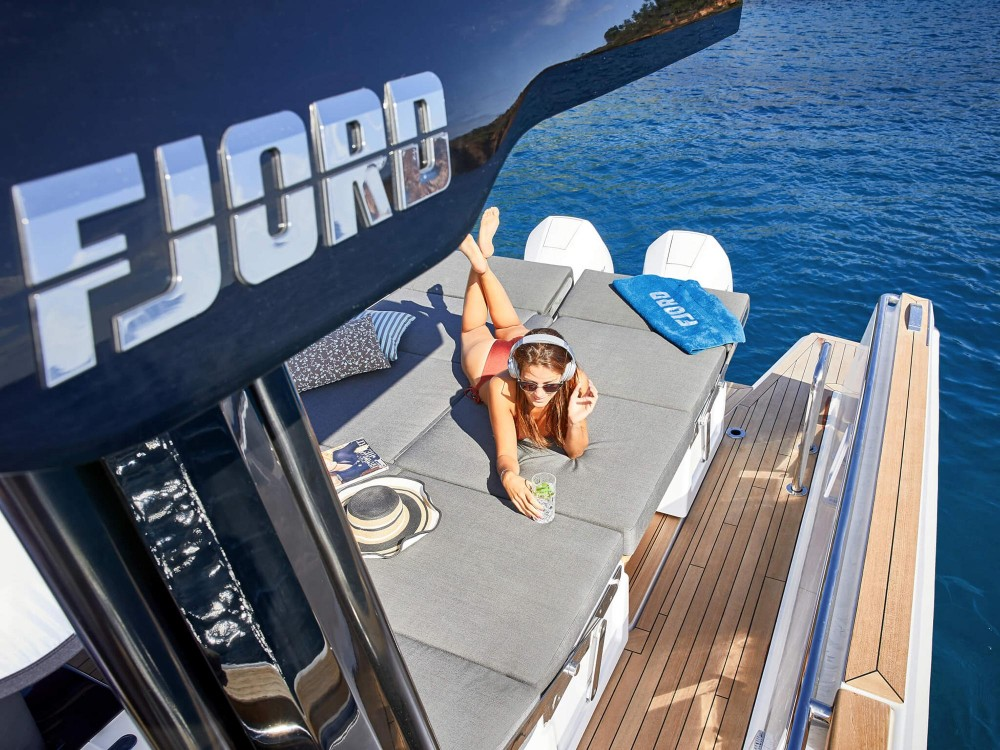 Hire Motor boat with or without skipper Fjord-Boats Croatia