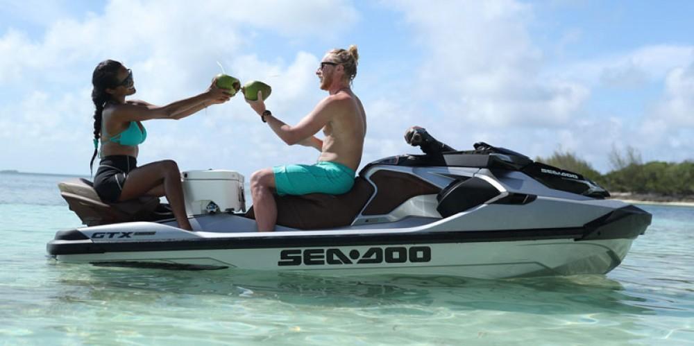 Rental Jet Ski in Grimaud - Seadoo GTX LIMITED