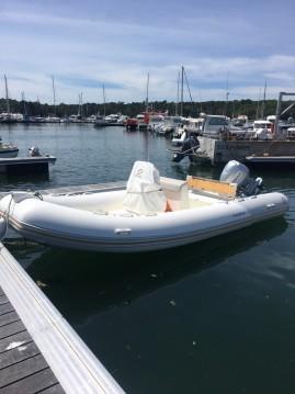 Boat rental Zodiac Medline 580 in Bénodet on Samboat