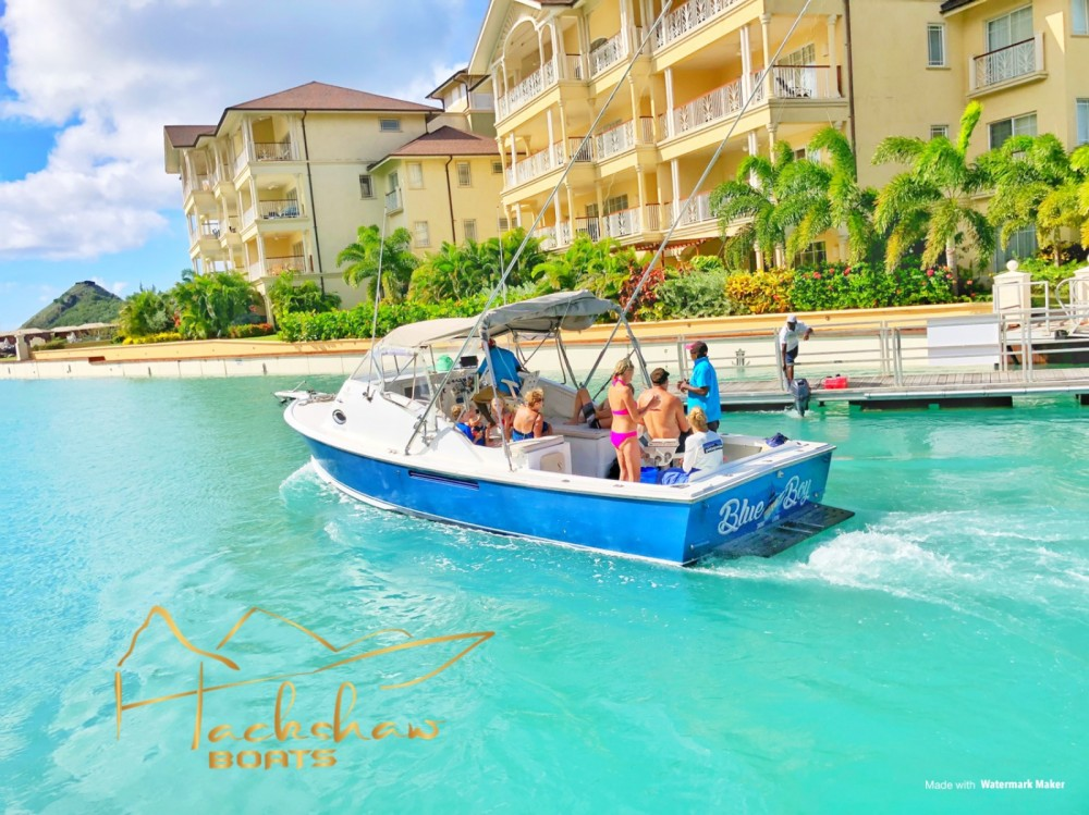 Hire Motorboat with or without skipper Bertram Castries