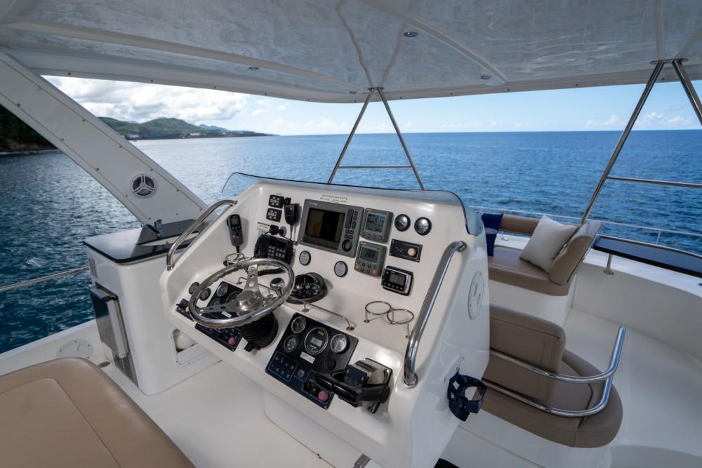 Boat rental Castries cheap Leopard 47ft