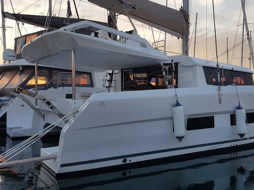 Boat rental Alimos Marina cheap Dufour Catamaran 48