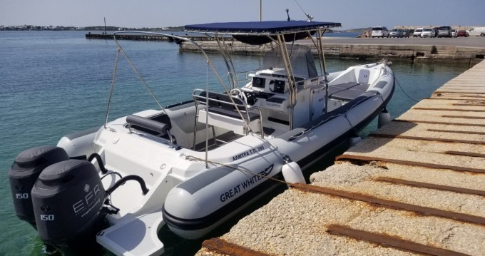 RIB for rent Paros Island at the best price