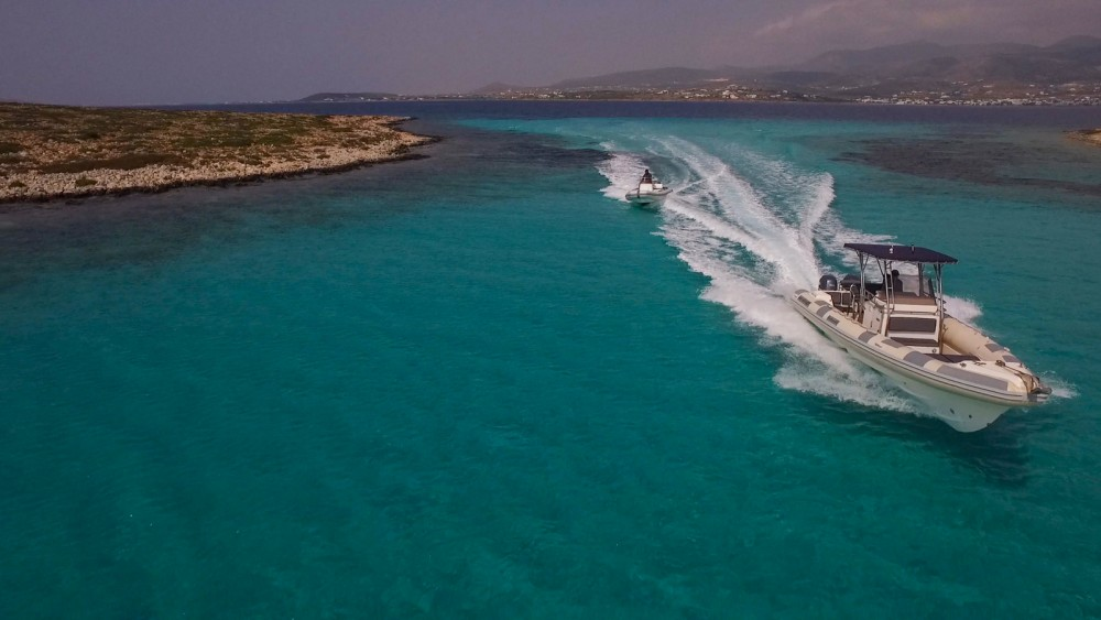 Rental RIB in Aegean - Great White 10M Faethon 900