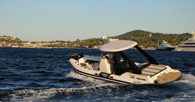 Rent a Wimbi Boats W7i Port Grimaud