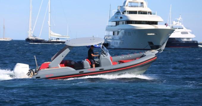 Rental RIB in Port Grimaud - Wimbi Boats W7
