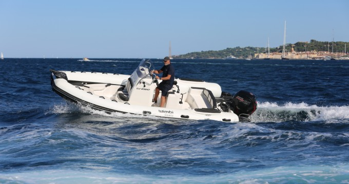 Hire RIB with or without skipper Wimbi Boats Grimaud