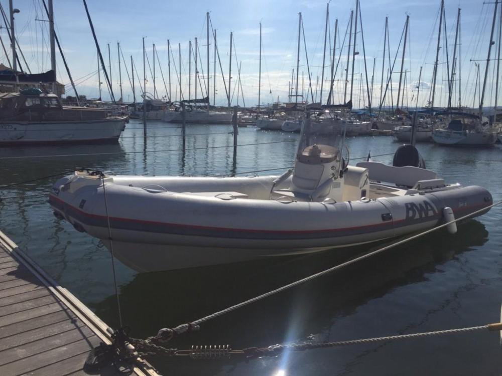 Boat rental Toulon cheap BWA 26