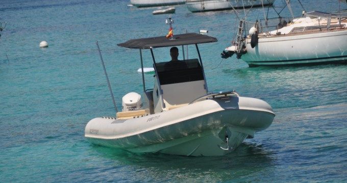 Rental RIB in Palma de Mallorca - Scanner 870D