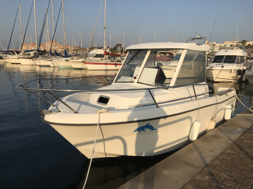 Bénéteau Antares 600 HB between personal and professional Carqueiranne
