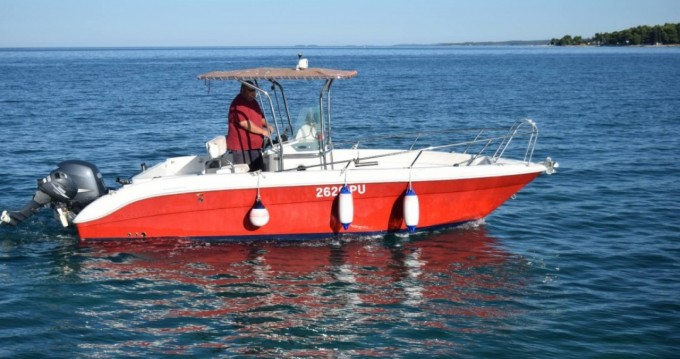 Rental Motorboat Northstar with a permit