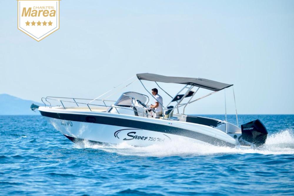 Rental Motorboat in Opatija - SAVER 750 WA Saver 750 Cabin  WA