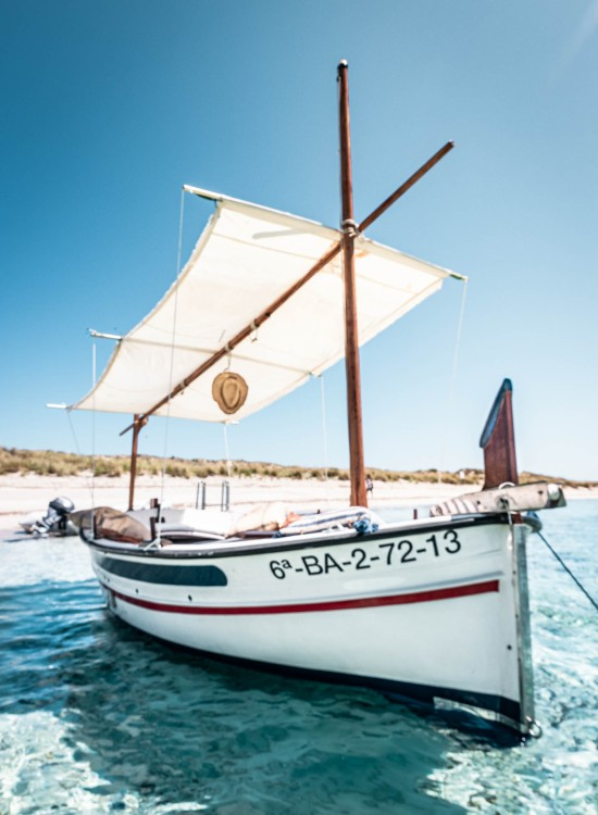 Pascual Illes Medes between personal and professional Formentera